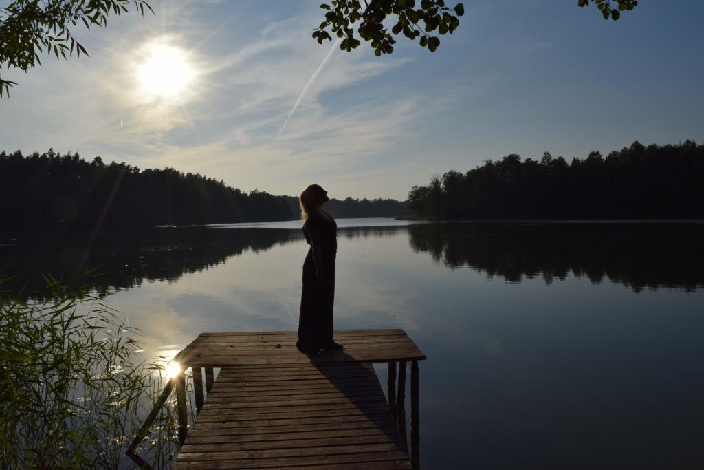 ublik mazury model plus size back pack backpacking camping lake poland