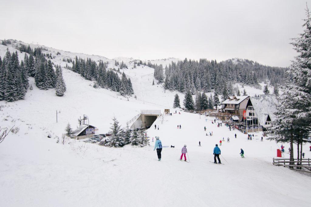skiing slope sarajevo bosnia