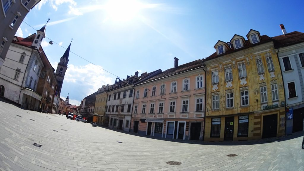 The old town of Kranj