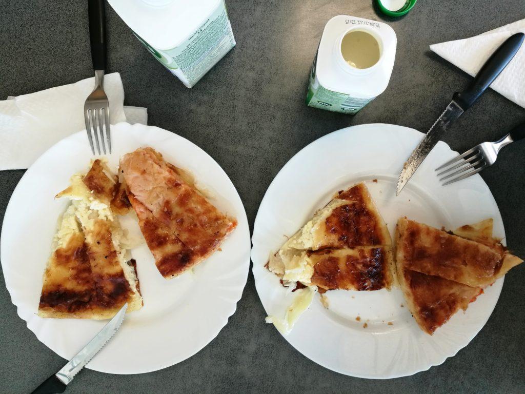 Cheese burek & pizza burek
