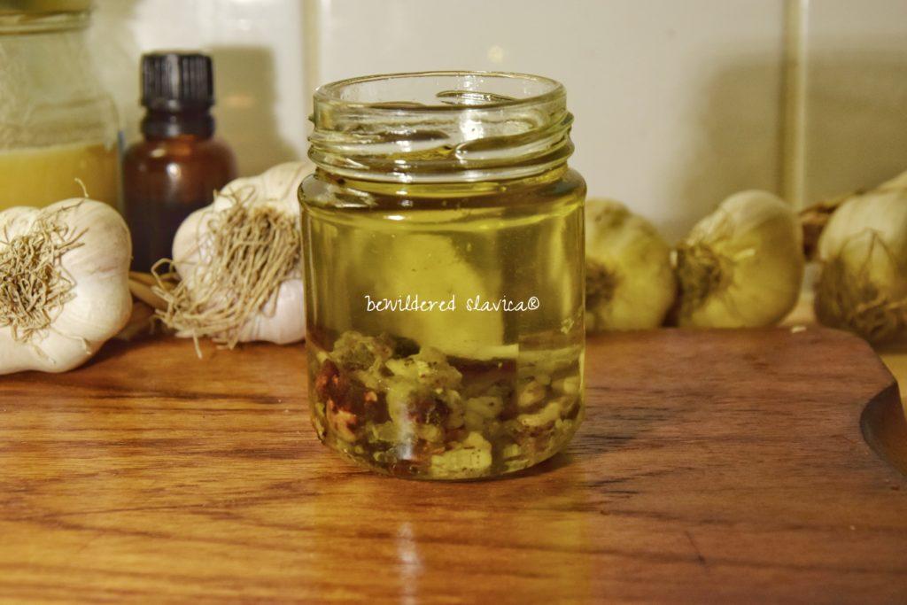 maść żywiczna sosnowa iglasta choinkowa przepis słowiański mscerat jak macerować olej domowa apteczka