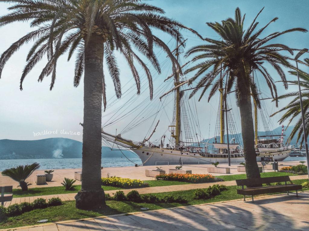 Porto Montenegro, luksusowa przystań w Tivacie