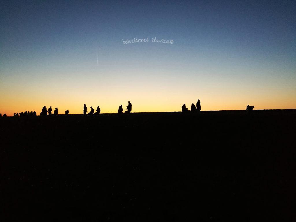 Zachód słońca nad Kalemegdanem