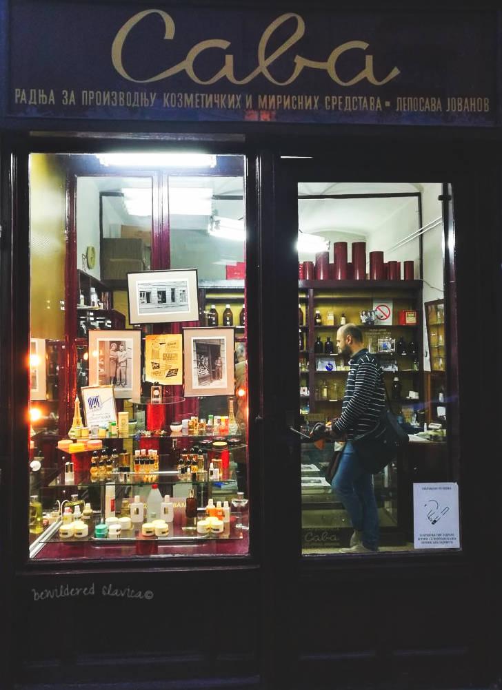 Perfumeria Sava, Kralja Petra 75, Belgrad