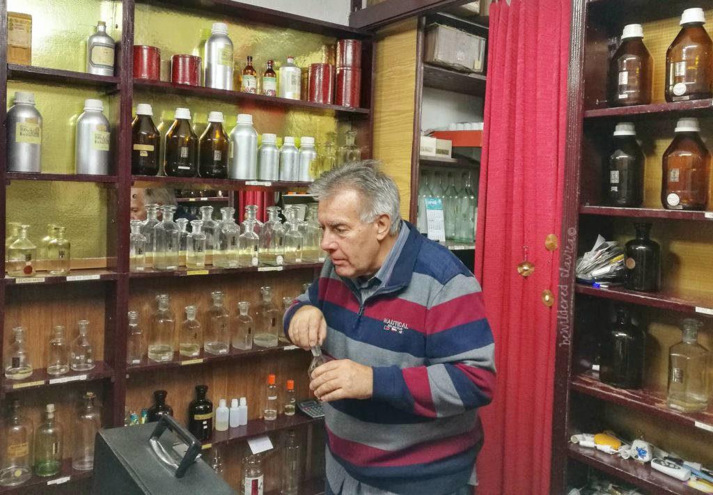 sava erfumeria perfumier beograd belgra belgrade off the beaten track perfume old shop man serbian