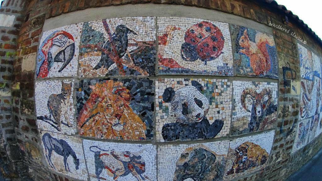Mozaika na jednej z ulic Belgradu beograd belgrade mosaic art streetart