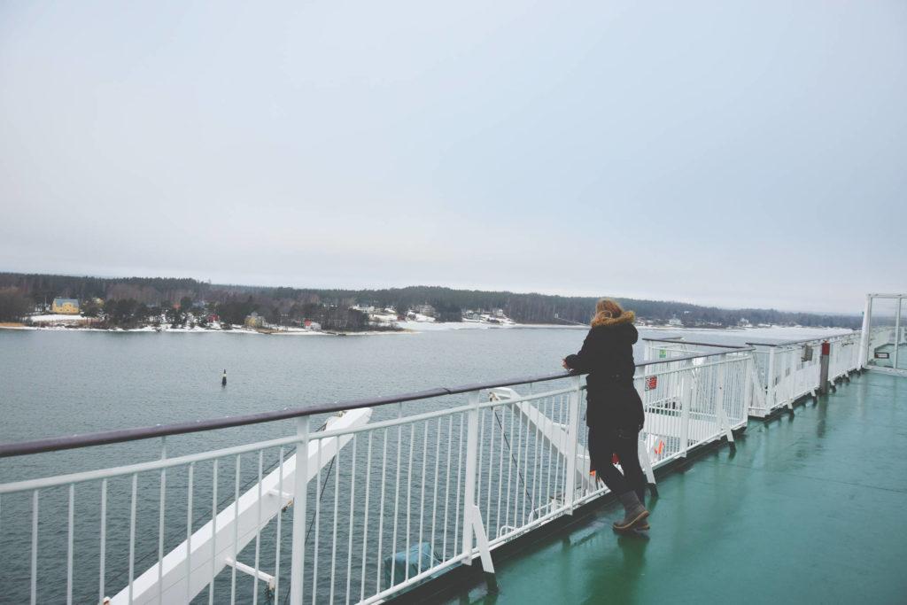 viking line birka cruise rejs stena mariehamn aland island hamn hinland bewildered slavica wycieczka bałtyk zimą