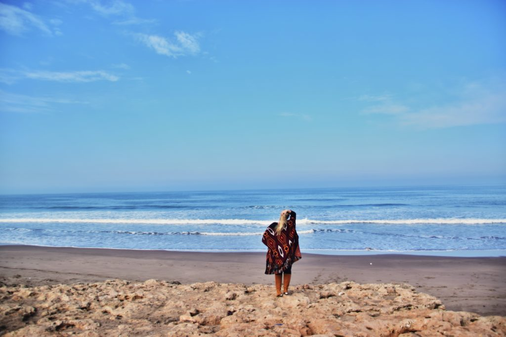 Tamaris, mała miejscowość nad oceanem blisko Casablanki
