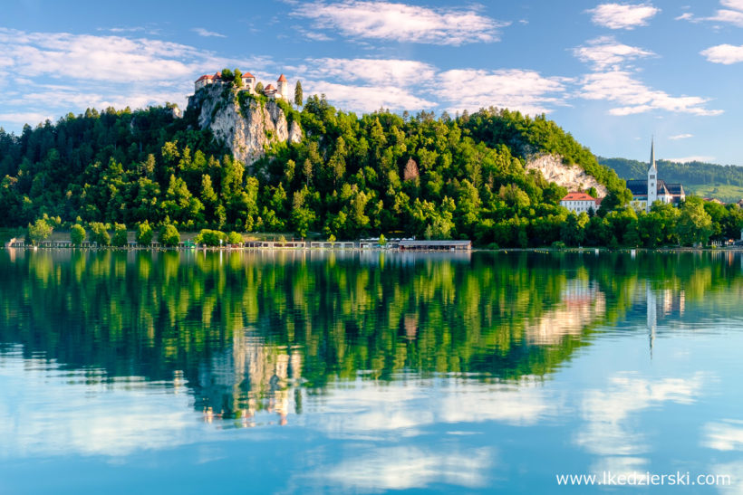 bled slovenia słowenia jeziowo lake łukasz kędzierski fotografia
