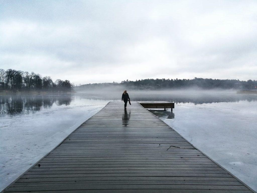 slavic girl słowianska szwcja svenska sverige dziewczyna las forest nature therapy haga parken
