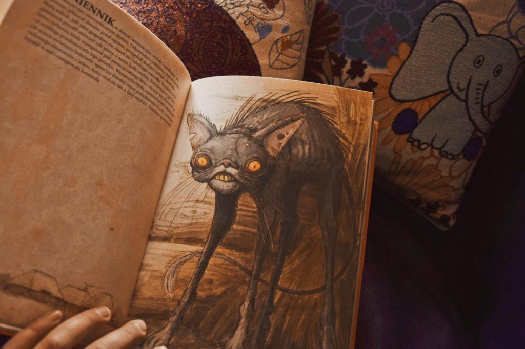 bestiariusz słowiański demony rusałka gumnik demon potwór wiedźma magia wicca slavic demon gusła