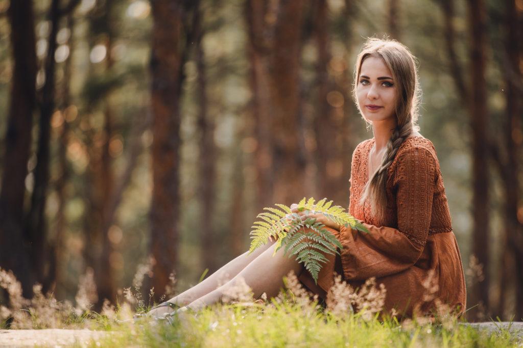 aleksandra rozmus autorka slavic girl słowianka fern kwiat paproci rodzimowierca polka dziewczyna piękna słowianie