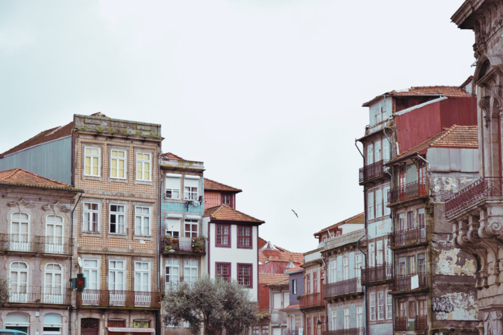 porto architecture houses home portugal tiles