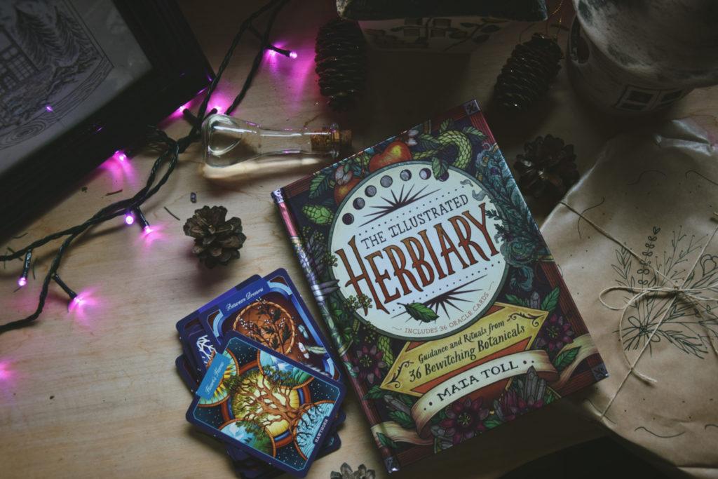the illustrated herbiary herb book wicca witch magic magia zioła maia toll książka zielnik