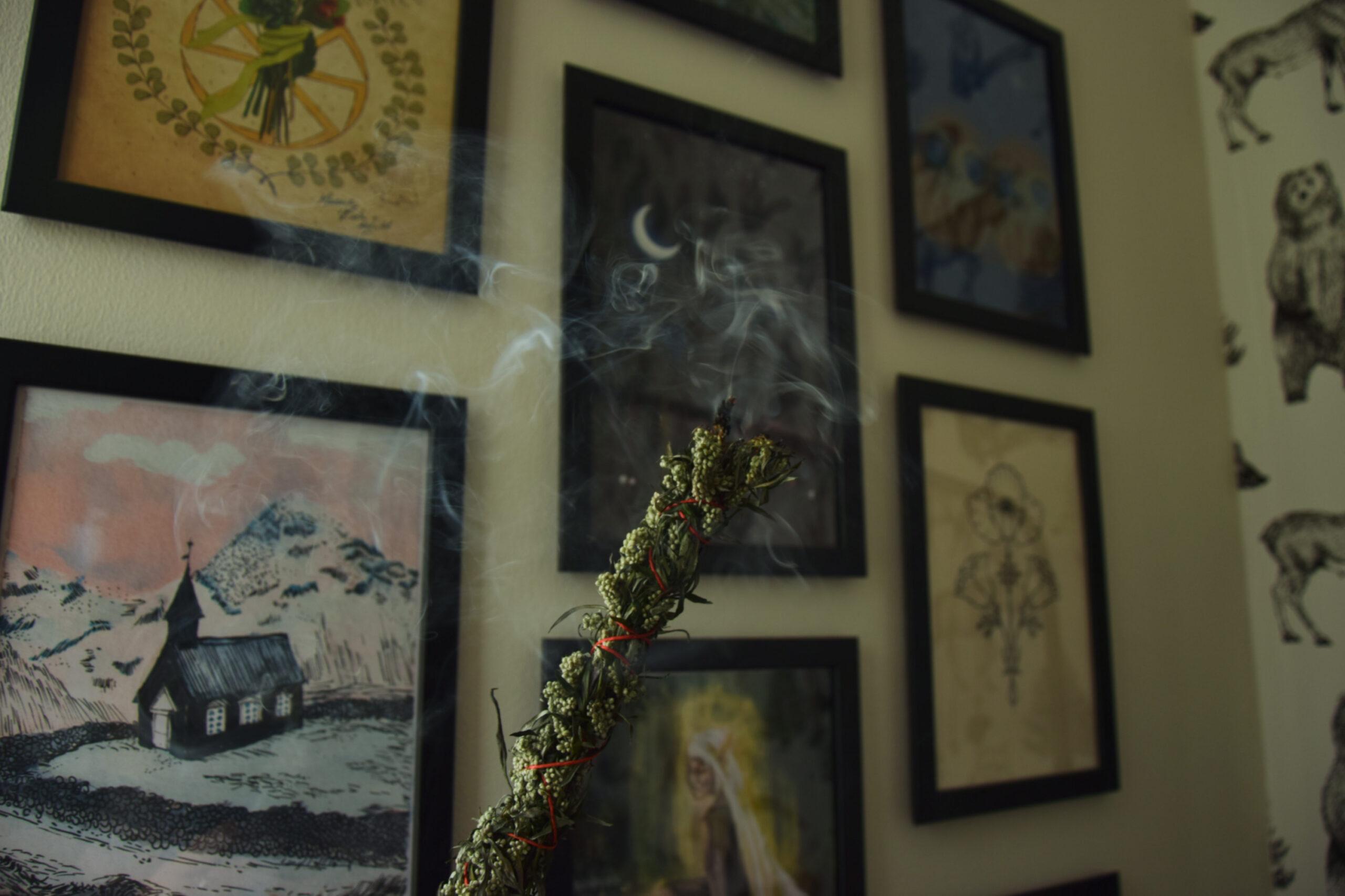 Jak zrobić ziołowe różdżki – kadzidło z bylicy