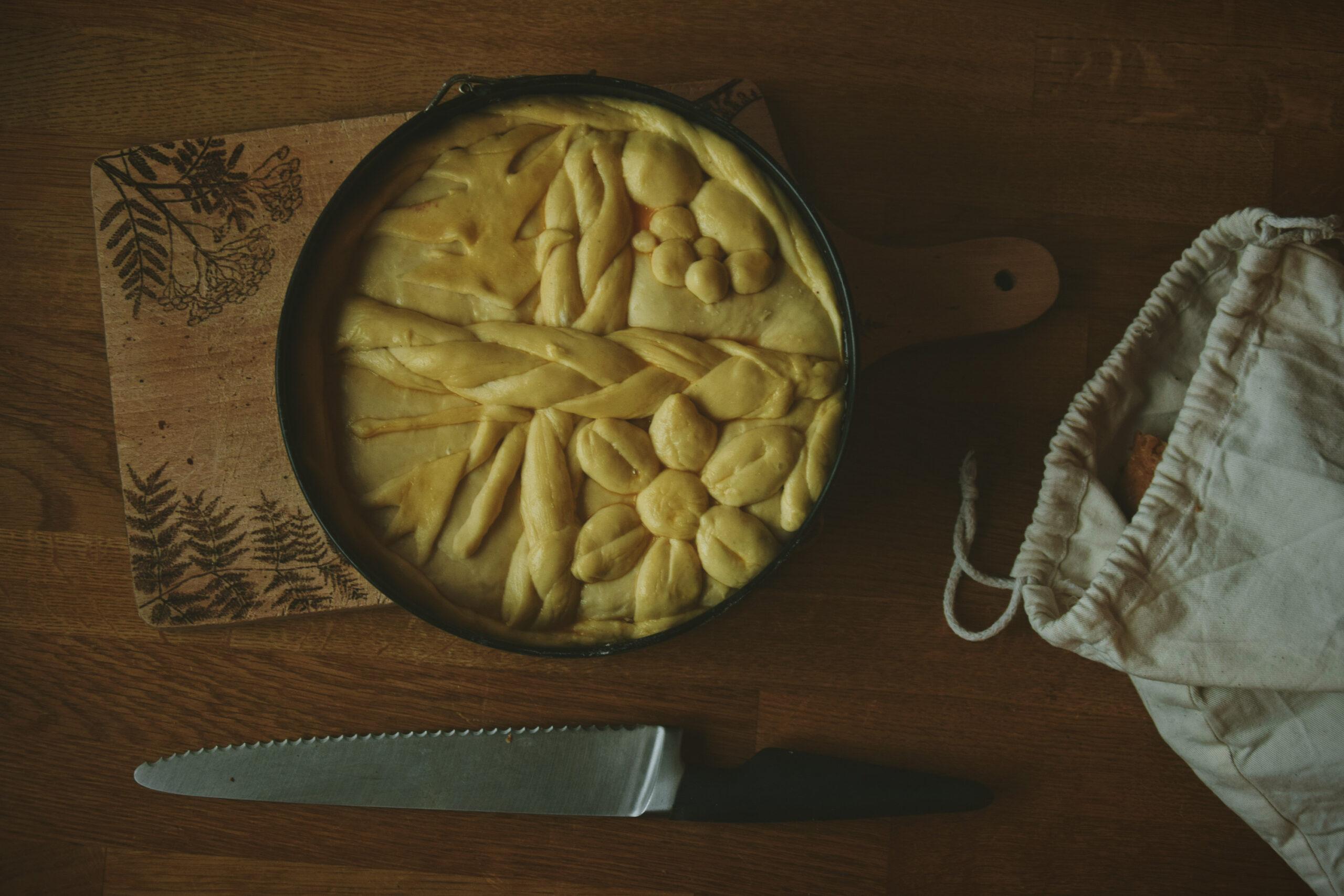 Božićna Česnica – serbski świąteczny chlebek