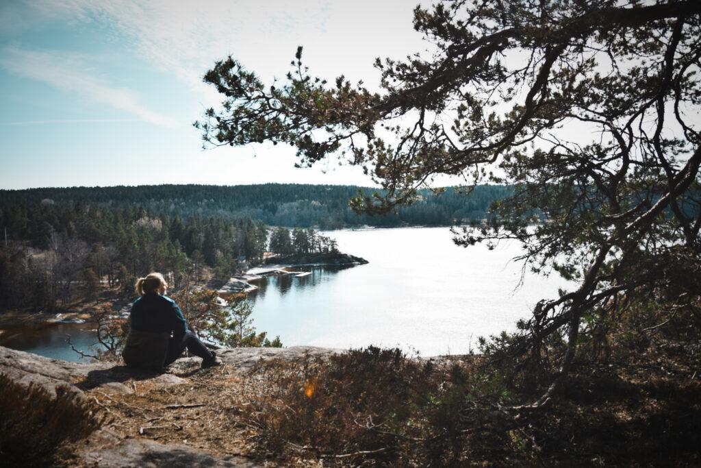 Klövbergets naturreservat, Noretvägen, Tyresö co zobaczyć w Sztokholmie