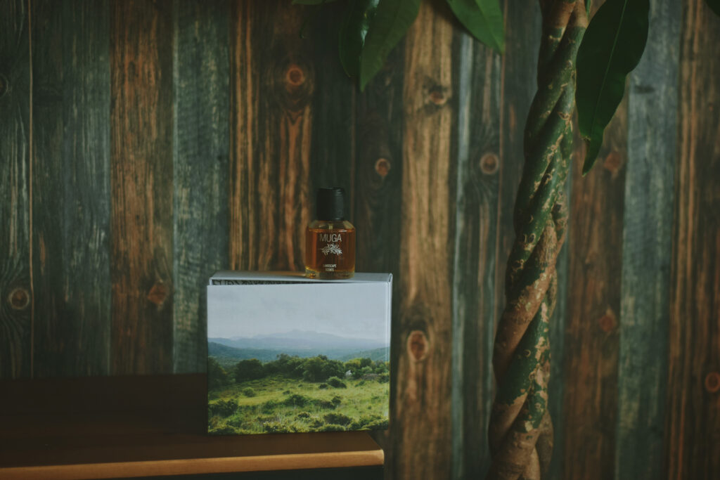 perfumy niszowe maig bravanariz lulua landscape scent smelling wild muga spanish catalunya